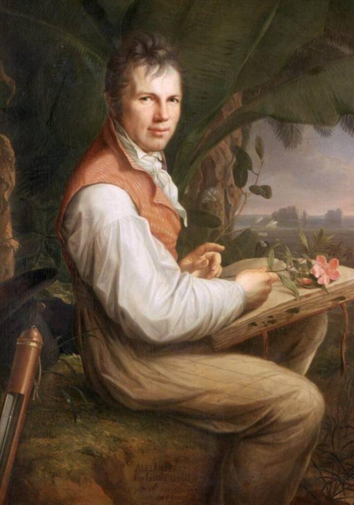 Alexander von Humboldt. Gregorios Wanderfamily Tenerife. Hiking in Tenerife