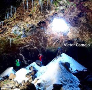Cueva del Hielo, en El Teide. Humboldt en Tenerife. Gregorios Wanderfamily Tenerife
