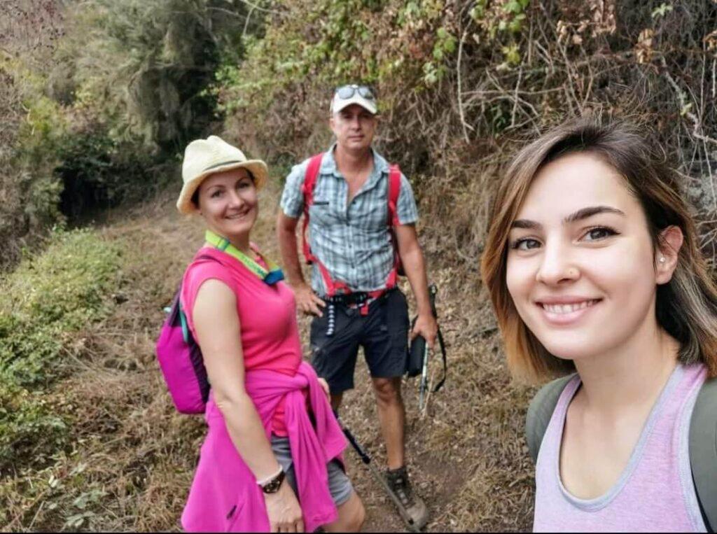 Wandern auf Teneriffa Hiking in Tenerife. Gregorios wanderfamily