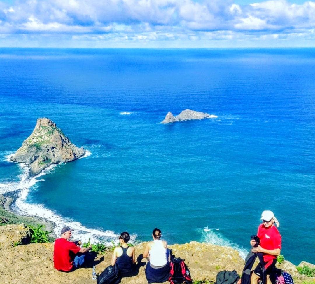 Anaga wandern senderismo Gregorios trekking Tenerife