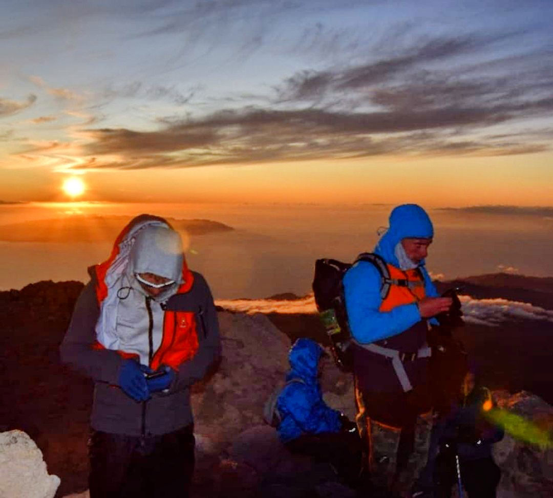Teide sunset Gregorios trekking Tenerife