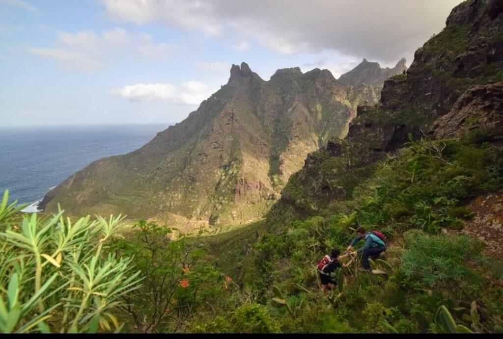 Anaga Gregorios Tenerife. wandern, senderismo, hiking, trekking