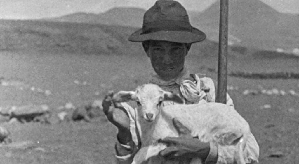Niño cabrero. Gregorios Tenerife