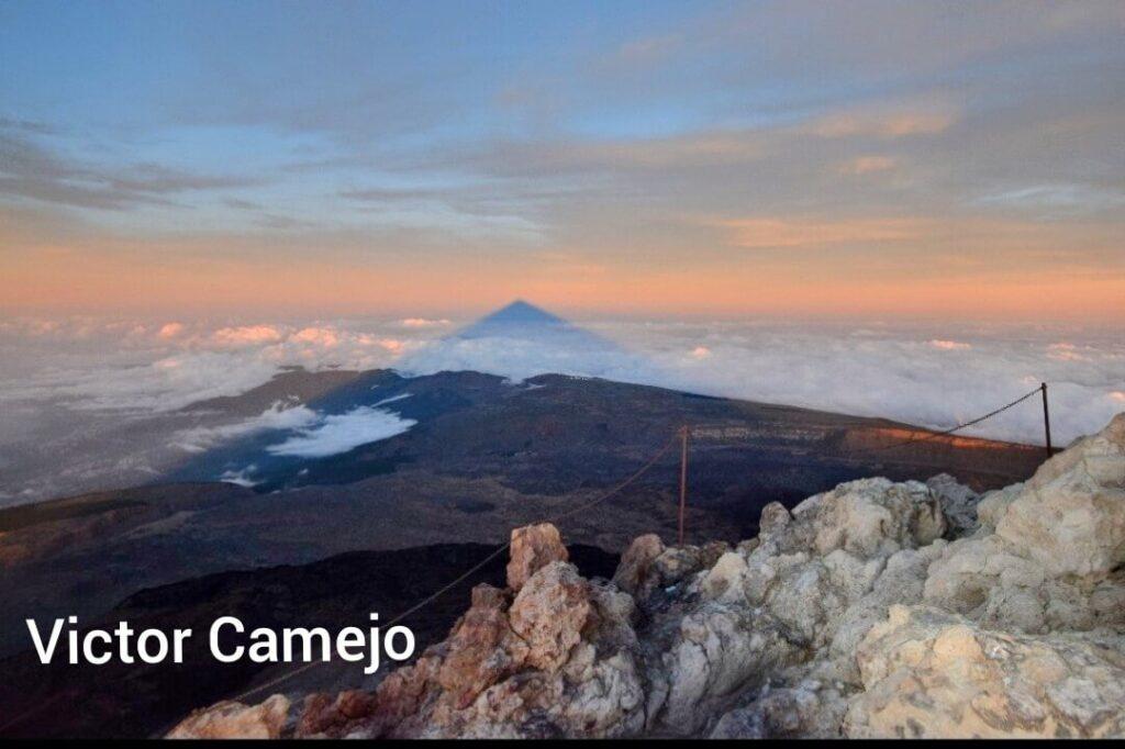 Teide sunsertTeide sunset Gregorios trekking Tenerife