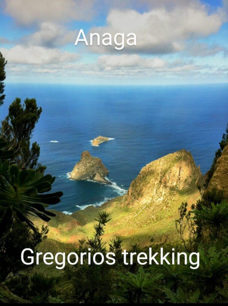 Anaga, senderismo. Gregorios trekking